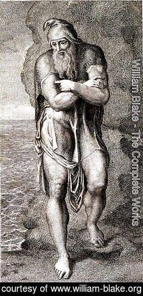 William Blake - Joseph of Arimathea Among the Rocks of Albion