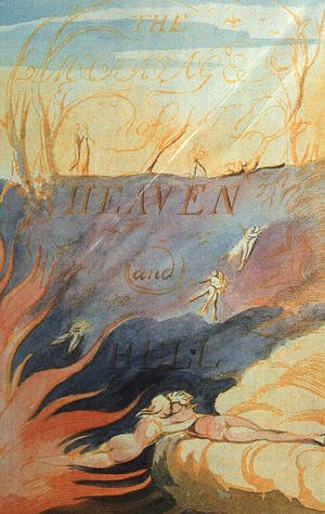 William Blake - The Marriage of Heaven & Hell 1790-93