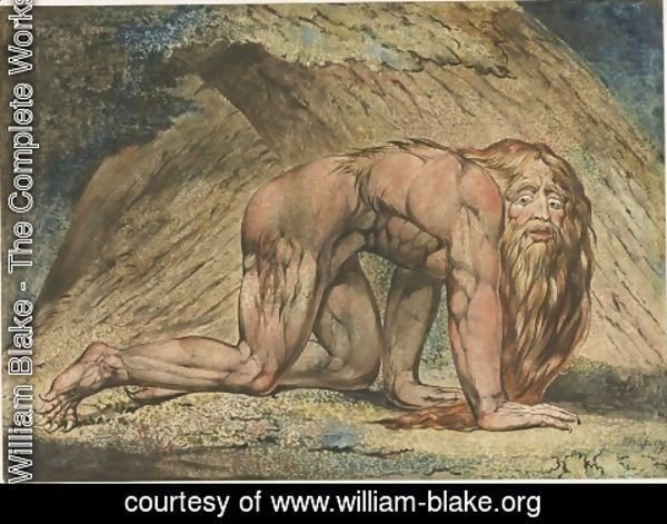 William Blake - Nabuchodonosor